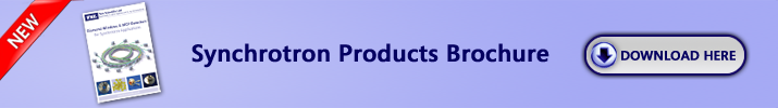Synchrotron products brochure
