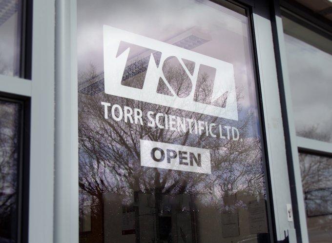 Torr Scientific is open