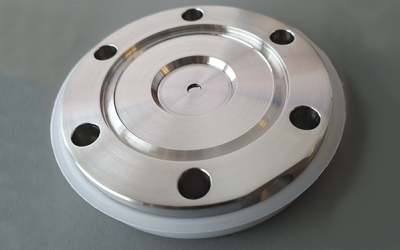 Ultra-thin Optical diamond viewport supplied to MaxIV